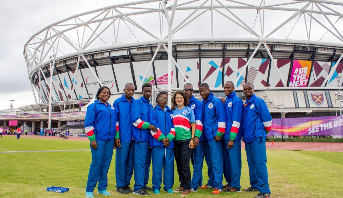 Met Team Namibia mee naar de World Para Athletics Championships in London